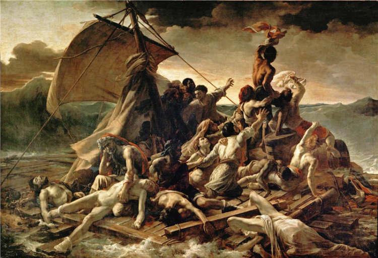 自由引导人民_卢浮宫里的德拉克洛瓦:发明浪漫主义
